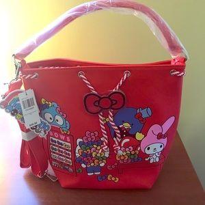 Loungefly Sanrio Hello Kitty Bow Bucket Bag